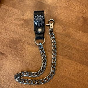 Harley Davidson wallet chain